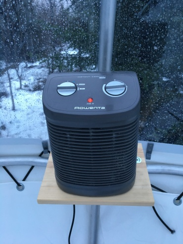 space heater for air